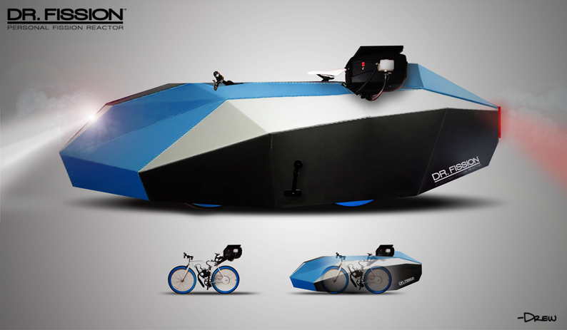 DR FISSION Affordable Water Powered Vehicle